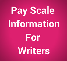 Words Ireland Pay Scale Information for Writers